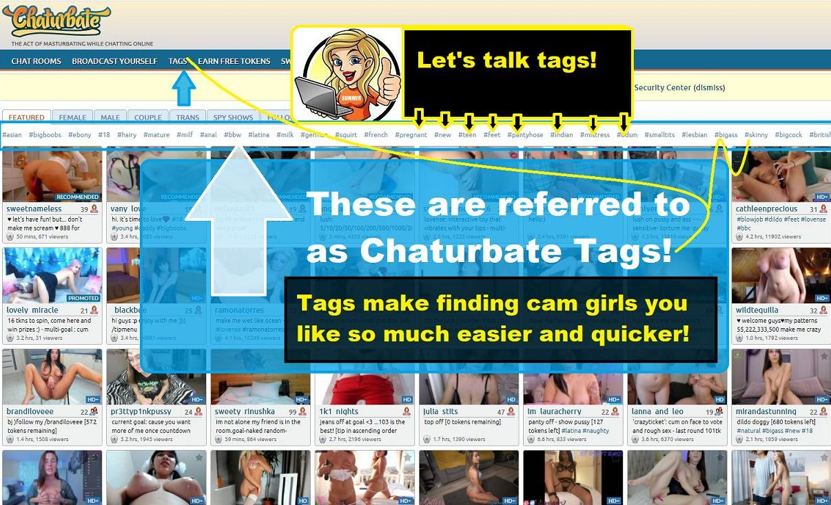 chaturbate tags